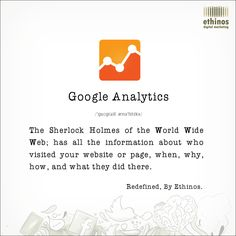 Here's how we see 'Google Analytics.' What's your take on it?