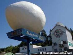 World's Largest Egg - Winlock, Washington