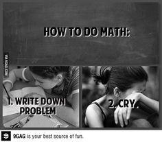 Im not good at math