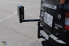 Tailgate TV Stand - Watch TV off the back of your car via the Tow Hitch. Tailgating Gear, Football Tailgate, Watch, Tv, Ideas, Clock, Bracelet Watch, Television Set, Clocks