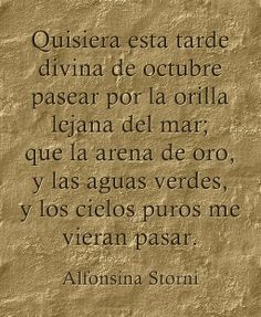 """Dolor"", Alfonsina Storni (Suiza, 1892 - Argentina, 1938)."