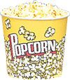 24 oz. Yellow Popcorn Cup 50 Count   Price $11.00