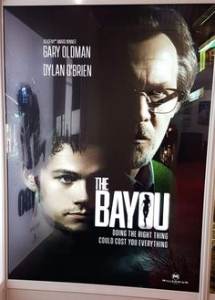 Someone spotted a movie poster for Dylan O'Brien's The Bayou in Cannes