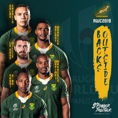 Springbok World Cup Squad announced: Are you ready South Africa? 2019 Rwc, Go Bokke, Scrapbook Photos, Rugby World Cup, Rugby Players, Afrikaans, South Africa, Squad, Japan