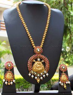 Beautiful Temple jewelery Set – India1001.com