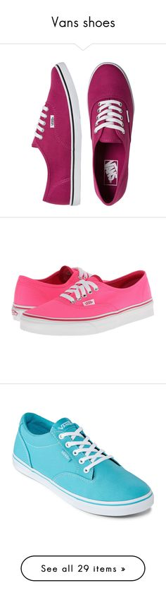 """""""Vans shoes"""" by thesmartunicorn ❤ liked on Polyvore featuring shoes, sneakers, vans, zapatillas, tenis, lace up shoes, lace up sneakers, patterned shoes, waffle shoes and print shoes"""