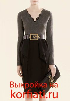 Russian site will illustration for you to recreate this Gucci skirt.