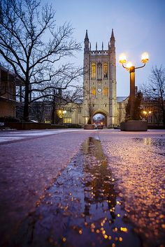 The Memorial Union on the campus of the University of Missouri in Columbia by Notley Hawkins Photography. Taken with Canon EOS 5D Mark III camera and a EF16-35mm f/2.8L USM lens. Processed with Adobe Lightroom 5.7.