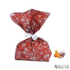 Bandanna Cellophane Bags