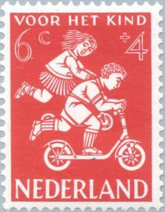 ◙ The Netherlands, Postage Stamp, 1958. ◙