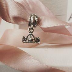 "Monica on Instagram: ""New charm #Pandora #pandoracharm #pandorabracelet #pandorainspired #jewelry #mypandora #my_pandora_story #photooftheday #myprincess #princess #tiara #pandorainspired #pandoracharms #girly #Pink"""