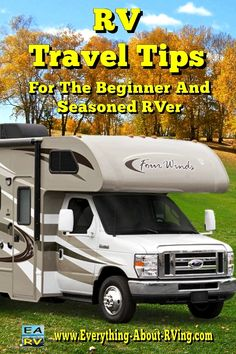 RV Travel Tips For The Beginner And Seasoned RV Enthusiast: Here are six helpful tips that will come in handy for... Read More: http://www.everything-about-rving.com/rv-travel-1.html Happy RVing! #rving #rv #camping #leisure #outdoors