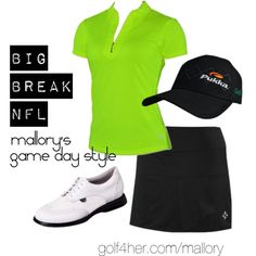 Game Day Style: Mallory Blackwelder by golf4her on Polyvore featuring Jofit