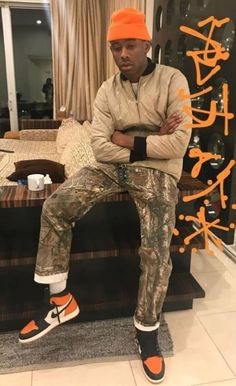 Tyler, The Creator Air Jordan 1 Shattered Backboard Tyler The Creator Fashion, Tyler The Creator Outfits, Jordan Fashions, Jordan Outfits, Outfit Man, Golf Outfit, Jordans Outfit For Men, Jordan Sneaker, Jordan 1 Shattered Backboard