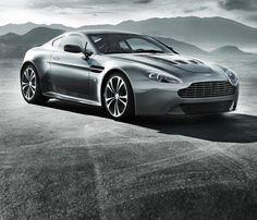The Aston Martin V-12 vantage coupe