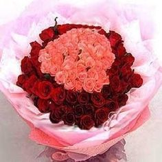 75 Red Roses + 75 Pink Roses Hand Bunch. Buy this beautiful combination of #flowerbouquet at just Rs 3,699.