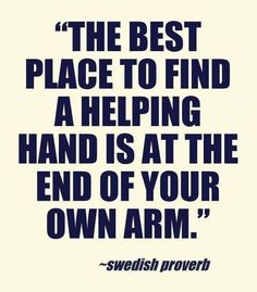 The best place to find a helping hand