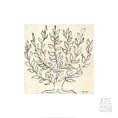 Le Platane Art Print by Henri Matisse at Art.com