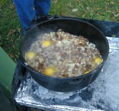 If you are a prepper, homesteader or just someone who likes cooking outdoors, you have to get a Dutch oven…  Dutch ovens are so versatile, you can cook almost anything in a Dutch oven that you can cook in a traditional. Everything from frying eggs to baking bread!