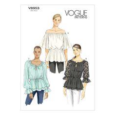 Mccall Pattern V8953 6-8-10-12--Vogue Pattern