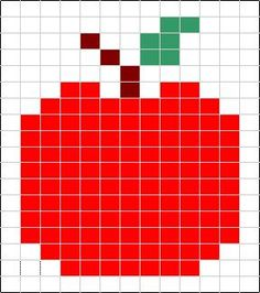 Image result for apple knitting charts