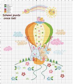 The most beautiful cross-stitch pattern - Knitting, Crochet Love Cross Stitch Beginner, Cross Stitch For Kids, Cross Stitch Baby, Cross Stitch Animals, Cross Stitch Charts, Cross Stitch Letters, Cross Stitch Borders, Modern Cross Stitch, Cross Stitching