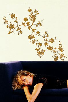 Golden Jacobean Wall Decal by Wall Decals from Jonathan Adler & More on @HauteLook