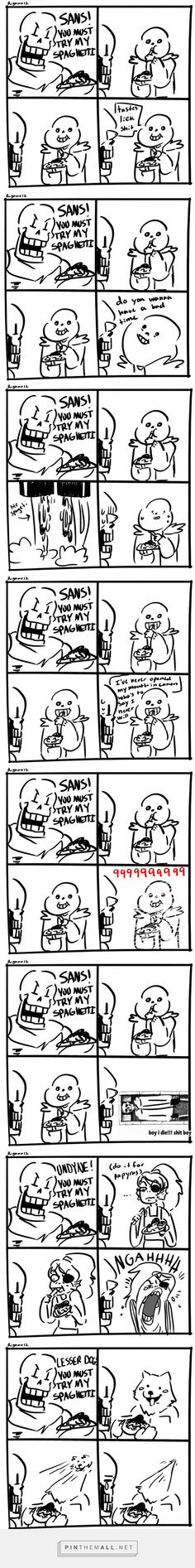 Papyrus and Sans - comic