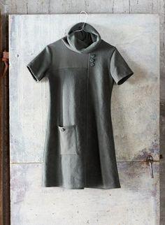 www.mirkapukine.fi Short Sleeve Dresses, Dresses With Sleeves, Dressing, High Neck Dress, Blog, Stuff To Buy, Fashion, Turtleneck Dress, Moda