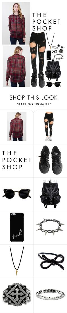 """""""❈ The Pocket Shop - 3 ❈"""" by style-and-chic-boutique ❤ liked on Polyvore featuring adidas, Joomi Lim, Dogeared, Areaware, Carolina Glamour Collection, Stacks and Stones and thepocketshop"""
