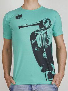 Vespa TShirt by kozotshirts on Etsy, $19.90