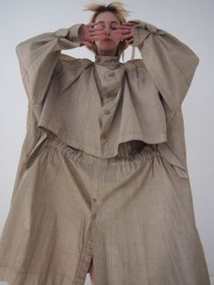 Sold - ISSEY MIYAKE - 1980s Oversized Trench