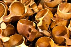 Kuksa (traditional wooden cups)