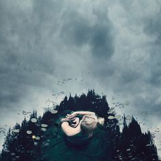New Conceptual Self-Portraits Tap Into Photographer Kylli Sparre's Fantastical Imagination | Colossal