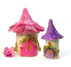 Tooth Fairy Box House Gift Miniature Fairy Garden House Home