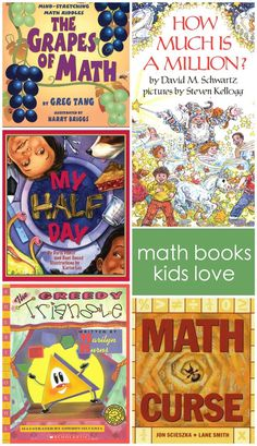 math picture books kids love teach kids math skills easily!