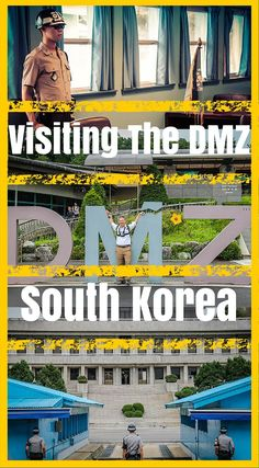 Journey to the DMZ in South Korea. Visiting the Demilitarized Zone (DMZ) in South Korea was one of the main reasons we decided to fly to Seoul. We have both always been fascinated with the history between North and South Korea. Click to read the full Adventure Travel Blog Post At http://www.divergenttravelers.com/journey-dmz-south-korea/
