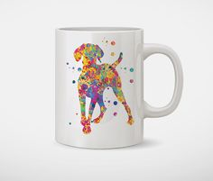 Hungarian Vizsla Mug 11 oz coffee tea Animals design by MimiPrints
