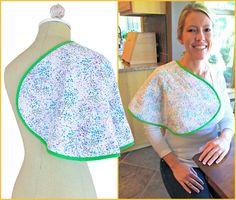 Ergonomic Baby Burp Cloths: Fabric Depot | Sew4Home