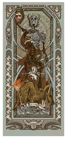 """Reapers of the Apocalypse"" Art Print Set by Ryan Begley"