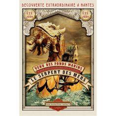 Molina.ro • Stephan Muntaner Affichiste des Machines de l'île...