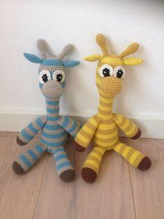 Giraf - flere gratis hækleopskrifter