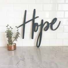 Hope Sign // Wood blessed Sign //fall Decor//Thanksgiving Decor//Rustic Wood Sign//Wood Sign//Wall Hanging//Home Decor // Harvest Decor Harvest Decorations, Thanksgiving Decorations, Rustic Wood Signs, Rustic Decor, Hope Sign, Cow Kitchen Decor, Letter A Crafts, Craft Letters, Blessed Sign