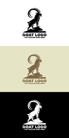 Goat Logo, Print Fonts, Construction Design, Text Color, Vector File, Logo Templates, Goats, The Help, Illustration