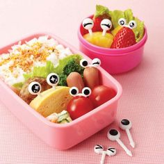 Buy Bento Googly Eyes Food Picks and other fun kids bento lunch ideas and gifts. Flat rate shipping or FREE delivery on orders over $150