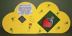 Ich bin hin und weg, von der süßen Herzkarte, die mein Kleiner als Vatertagsgeschenk vom Kindergarten heimgebracht hat. Was für eine süße Id...