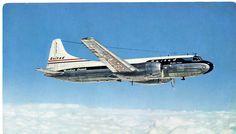 vintage postcard - UA Convair | The CV-340 replaced the DC-3… | Flickr