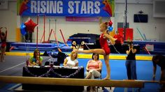 Hannah's new level 5 beam with back handspring! age 9.