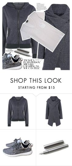 """""""Run"""" by vanjazivadinovic ❤ liked on Polyvore featuring adidas, Kaweco, The Kooples, polyvoreeditorial and twinkledeals"""