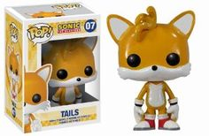 Amazon.com : Funko POP Sonic Tails Vinyl Figure : Action Figures : Toys & Games